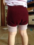 Cutest wooly nappy bottom ever!