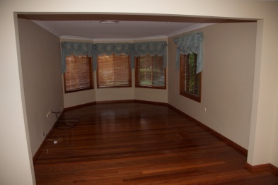 Living room before ...