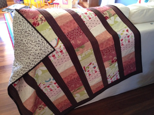 Lap quilt for Evie