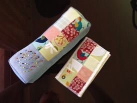 Isobel's pincushion and needle book