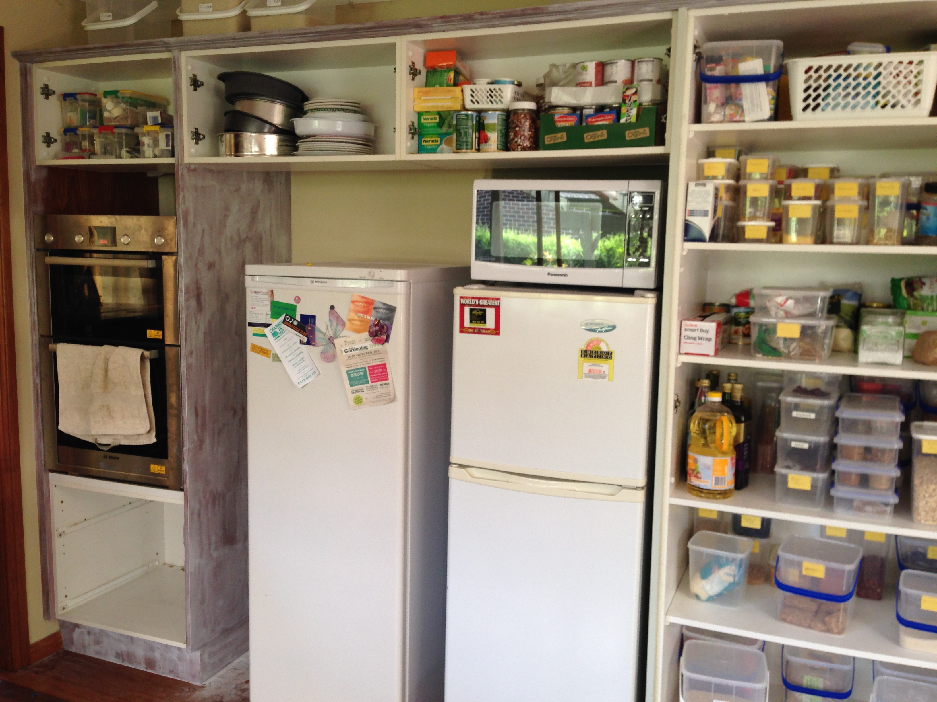Kitchen Redo Painting Cabinets Simple Crafty Life