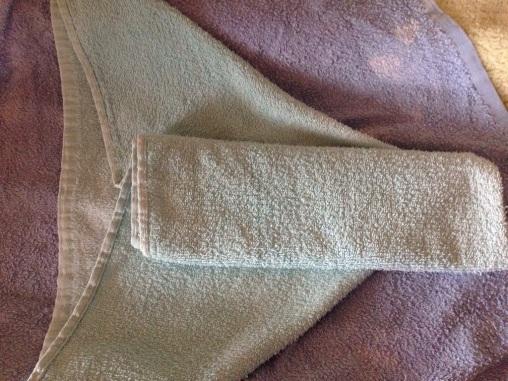 Chinese folded flat nappy