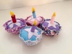 Purple Cupcake Set