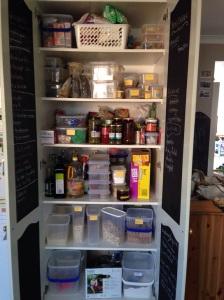 Disorganised pantry