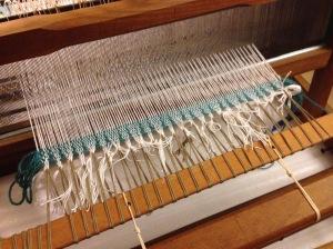 Weaving the header