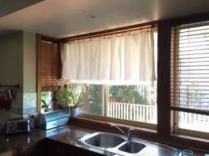 Half-height curtain