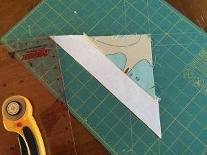 A simple triangular block