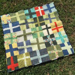 Wonky Cross Quilt